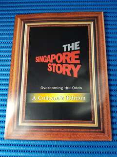 The Singapore Story SMRT Commemorative Tickets ( Lot of 6 MRT Cards featuring The Singapore Story )