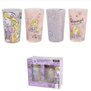 日本 迪士尼 公主系列 玻璃杯 (1套2隻) 240mlDisney Rapunzel