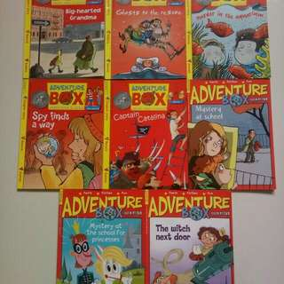 Adventure Box Story Book