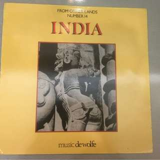 John Leach / Francis Silkstone ‎– From Other Lands No. 14 - India, Vinyl LP, Music De Wolfe ‎– DWS/LP 3518, 1984, UK
