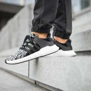 Adidas Originals EQT Support ADV 93/17 Boost (Black/White)