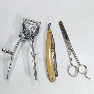 懷舊 理髮工具(那些年,老香港,集體回憶)