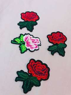 Roses Patches