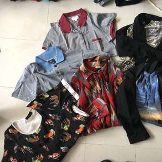 Assorted retro vintage sort of clothes