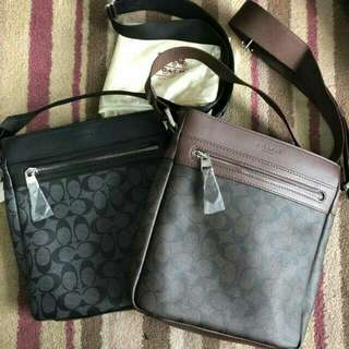 Coach sling for men