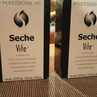 Seche Vite quick dry top coat