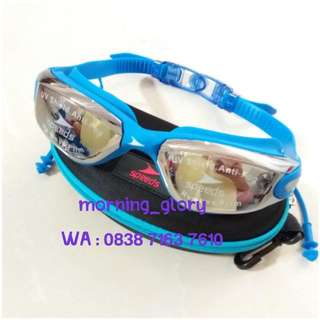 Kacamata Renang Mirror/ Swimming Goggles SPEEDS Anti Fog & UV LX-3000