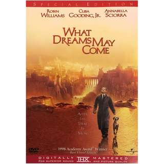 DVD - WHAT DREAMS MAY COME (ORIGINAL USA IMPORT CODE 1)