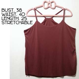 HALTER TOP #1 - Wine
