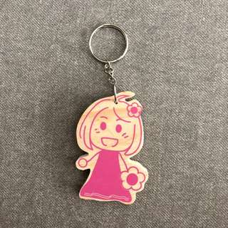 Handmade Little Girl Keychain