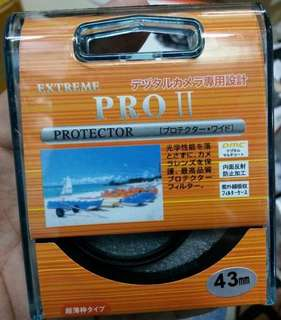 UV FILTER 43MM EXTREME PRO II