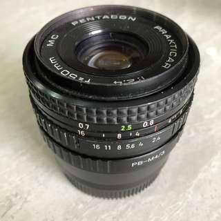 Vintage lens Pentacon 50 2.4