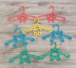 Animal Children Clothes Hanger Set
