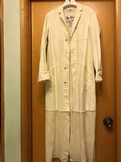 Initial jacket -長外套