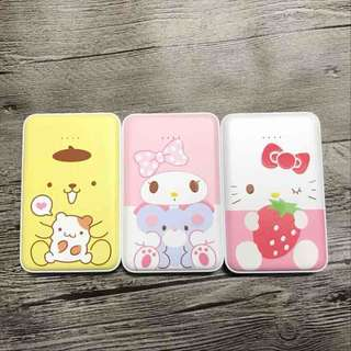 布丁狗 & Hello kitty 充電器12000mAh