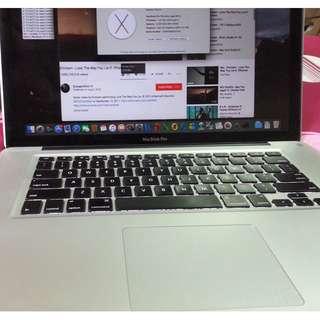 Macbook Pro A1286(15-inch,Late 2011)
