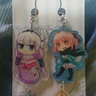 Kanna and Fate Keychains selling for cheap