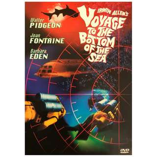 DVD - VOYAGE TO THE BOTTOM OF THE SEA