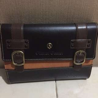 PRELOVED CLUTCH PLANET OCEAN