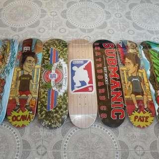 Submanic Skateboard Deck w/FREE Griptape