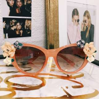 Floral Sunnies / Flower Sunglasses / Shades