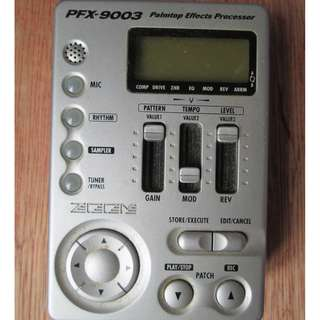 Zoom PFX 9003 Palmtop effects processor RARE!!!