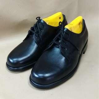Number 3 Black Leather Boots  [Pre-order]
