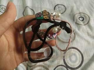3pc charm hair bands