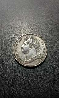 大英帝國1822佐治四世 xf-au