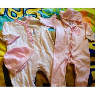 SALE! Take ALL! Bundle! Disney Frogsuit/ Onesie for baby girl / newborn till 6m