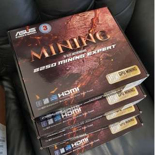 ASUS B250 Mining Expert Motherboard (IT FAIR SPECIAL)