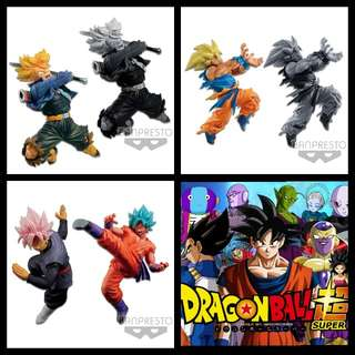 Dragonball figurines ( Items to arrive end May/ June)