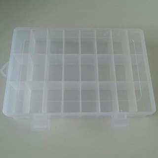 Components Storage Box with 24 Compartments