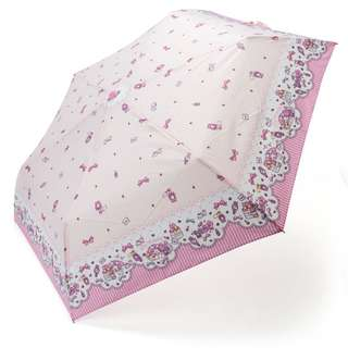 Japan Sanrio My Melody Rain and Shine Folding Umbrella (Ribbon)
