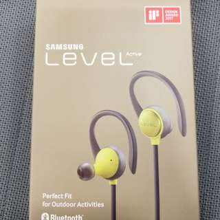 Samsung level active Bluetooth headset 籃牙耳機