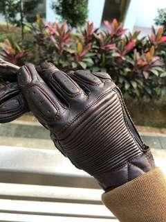 Roland Sands inspired - Goat skin leather gloves
