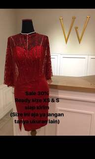 Red dress premium brand Magnifiquevgcouture