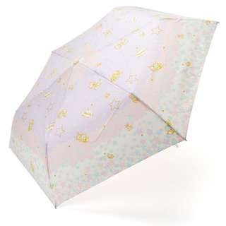 Japan Sanrio Little Twin Stars Rain and Shine Folding Umbrella (Ribbon)