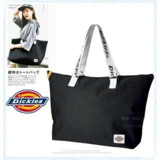 Dickies美國潮牌運動休閒包/男女通用/旅行袋/可掛行李箱拉桿/大容量/波士頓包