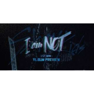 [PREORDER] Stray Kids 1st Mini Album - I Am Not