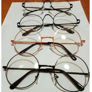 圓框平光眼鏡