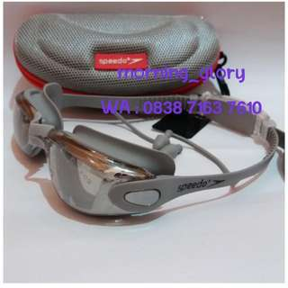 Kacamata Renang/ Swimming Goggles Anti Fog & UV Shield SPEEDO 50-S