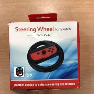 TONVER Steering Wheel for Nintendo Switch Joy Con