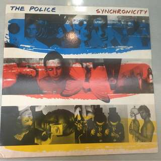 Police ‎– Synchronicity, Vinyl LP, BRY Version, A&M Records ‎– SP-3735, 1983, USA