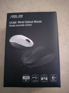 UT280 ASUS wired optical mouse