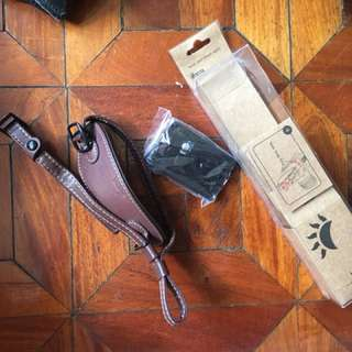 Camera Hand leather strap