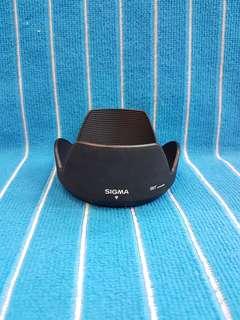 Sigma 28-300 DG lens hood