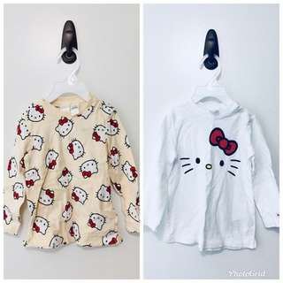 H & M Hello Kitty sweaters