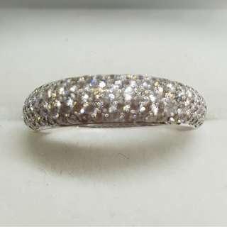 1.10 Carats Diamonds Ring