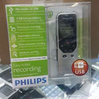 PHILIPS DIGITAL VOICE RECORDER